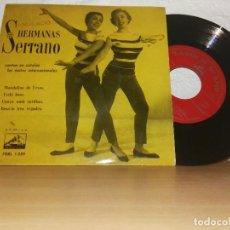 Discos de vinilo: HERMANAS SERRANO CANTAN EN CATALÁN. Lote 123286783