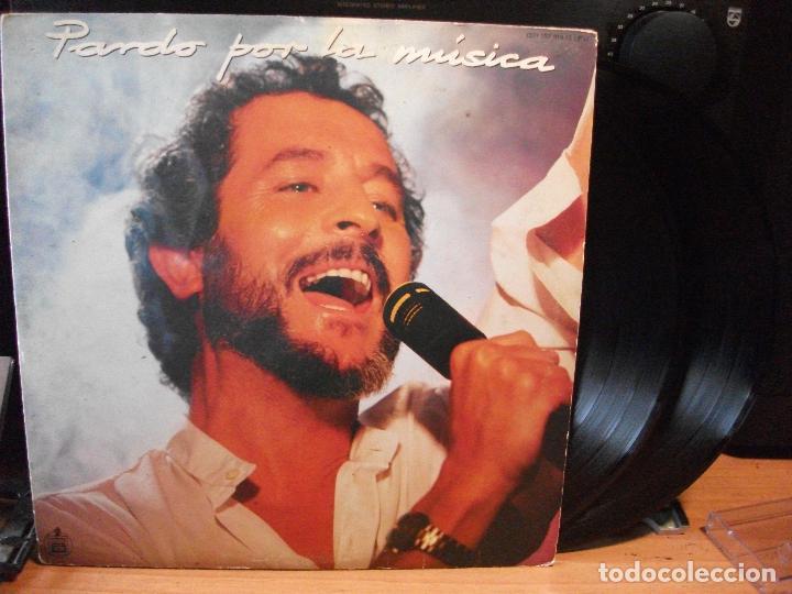 JUAN PARDO - PARDO POR LA MÚSICA - DOBLE LP HISPAVOX 1985 (Música - Discos - LP Vinilo - Solistas Españoles de los 70 a la actualidad)