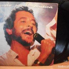 Discos de vinilo: JUAN PARDO - PARDO POR LA MÚSICA - DOBLE LP HISPAVOX 1985 . Lote 129464358