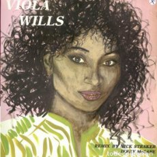Discos de vinilo: VIOLA WILLS GONNA GET ALONG WITHOUT YOU NOW, 12' MAX MUSIC 1984. Lote 134272798