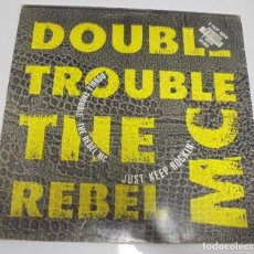 Discos de vinilo: LP. DOUBLE TROUBLE. THE REBEL MAC. 1989. DESIRE. Lote 123301847