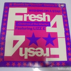 Discos de vinilo: LP. WISHING ON A STAR. FRESH 4. CHILDREN OF THE GHETTO. FEATURING LIZZ.E. 1989. Lote 123302191