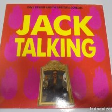 Discos de vinilo: LP. JACK TALKING. DAVE STEWART AND THE SPIRITUAL COWBOYS. 1990. BMG. Lote 123302447