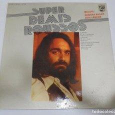 Discos de vinilo: LP. SUPER DEMIS ROUSSOS. 1976. PHILIPS. Lote 123303259