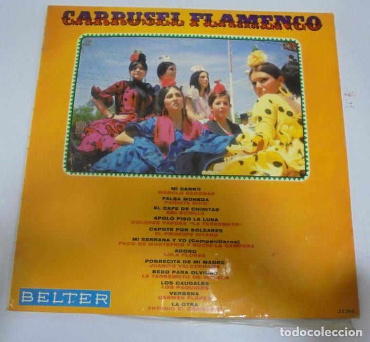 LP. CARRUSEL FLAMENCO. 1969. BELTER (Música - Discos - LP Vinilo - Flamenco, Canción española y Cuplé)