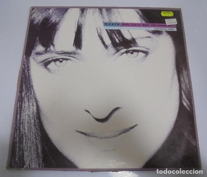 LP. BASIA. BABY YOU'RE MINE (BERMBAU MIX). 1990. CBS (Música - Discos - LP Vinilo - Pop - Rock Extranjero de los 90 a la actualidad)