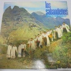Discos de vinilo: LP. LOS SABANDEÑOS. ANTOLOGIA DEL FOLKLORE CANARIO. VOL.1.. Lote 123303935