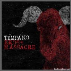Discos de vinilo: TEMPANO / EROS + MASSACRE - LP VINILO NEGRO - DESCATALOGADO - HARDCORE. Lote 123307455