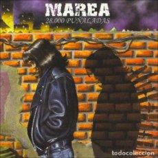 Dischi in vinile: MAREA - 28.000 PUÑALADAS - VINILO + CD A ESTRENAR. Lote 123310203