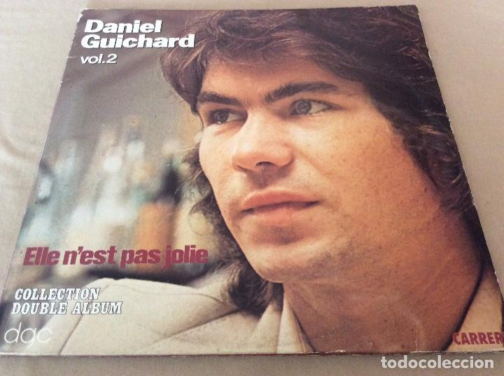 DANIEL GUICHARD ?– ELLE N'EST PAS JOLIE. CARRERE 1979. 2LP. CARPETA ABIERTA. (Música - Discos - LP Vinilo - Canción Francesa e Italiana)