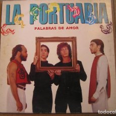Discos de vinilo: LA PORTUARIA – PALABRAS DE AMOR - EMI 1990 - MAXI - P. Lote 123329239