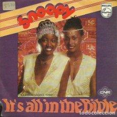 Discos de vinilo: SNOOPY. SINGLE. SELLO PHILIPS. EDITADO EN ESPAÑA. AÑO 1980. Lote 123334831