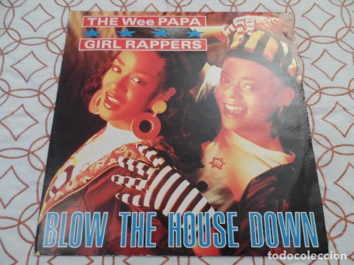 Discos de vinilo: THE WEE PAPA GIRL RAPPERS - BLOW THE HOUSE DOWN - Foto 1 - 123336627