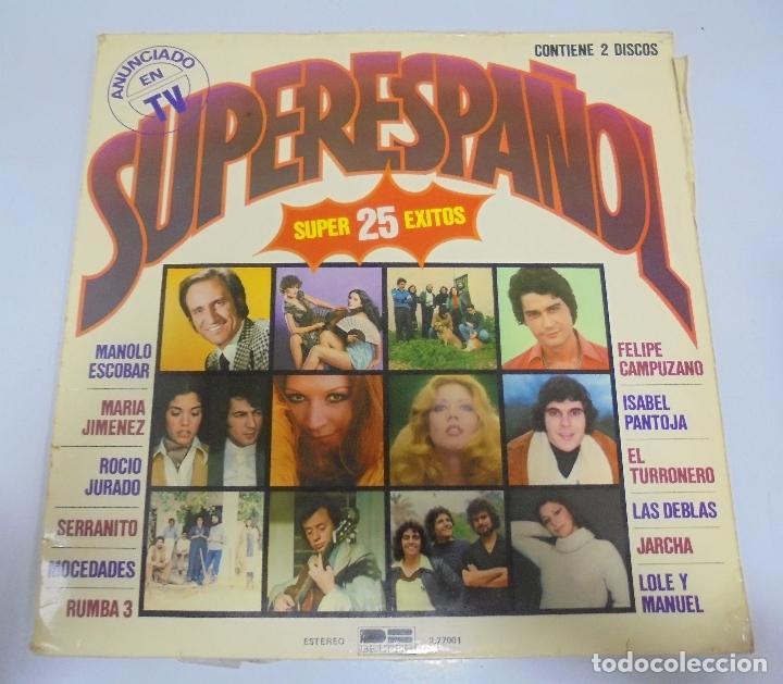 LP. SUPERESPAÑOL. SUPER 25 EXITOS. BELTER. 1978. MANOLO ESCOBAR, MOCEDADES, LAS DEBLAS (Música - Discos - LP Vinilo - Grupos Españoles de los 90 a la actualidad)