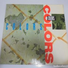 Discos de vinilo: LP. COLORS. ORIGINAL MOTION PICTURE SOUNDTRACK. 1988. Lote 123337723