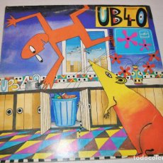 Discos de vinilo: UB 40 - RAT IN THE KITCHEN - UB40 - LP.MELODIA .URSS. Lote 149352653