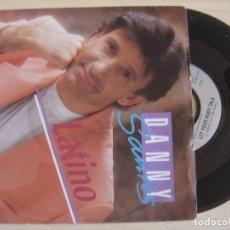 Discos de vinilo: DANNY SANTOS - LATINO + LET YOUR BODY TALK - SINGLE ALEMAN 1992 - POLYDOR. Lote 123342515