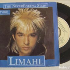 Discos de vinilo: LIMAHL - THE NEVERENDING STORY - BANDA SONORA DE LA PELICULA LA HISTORIA INTERMINABLE- SINGLE 1984. Lote 123344287