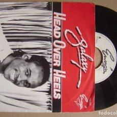 Discos de vinilo: GALAXY - HEAD OVER HEELS - SINGLE HOLANDES 1982 - ENGIGN. Lote 123345875