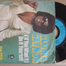 Discos de vinilo: GLORIA GAYNOR - IF YOU WANT IT + I´M STILL YOURS - SINGLE ALEMAN 1975 - MGM. Lote 123346367