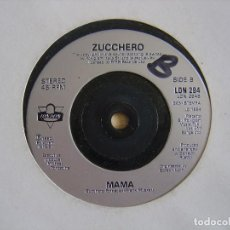 Discos de vinil: ZUCCHERO FEATURING PAUL YOUNG - SENZA UNA DONNA + MAMA - SINGLE 1990 - LONDON. Lote 123351411