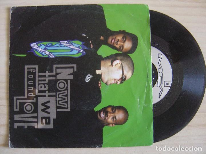 HEAVY D & THE BOYZ - NOW THAT WE FOUND LOVE - SINGLE UK 1991 - MCA (Música - Discos - Singles Vinilo - Rap / Hip Hop)
