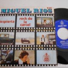 Discos de vinilo: MIGUEL RIOS-SINGLE DESPIERTA. Lote 123355107