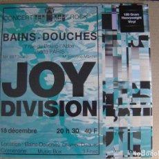 Discos de vinilo: JOY DIVISION - LES BAINS DOUCHES - LP 180G 2015 - DOL - NUEVO / PRECINTADO. Lote 123362219