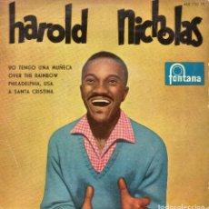 Discos de vinilo: HAROLD NICHOLAS, EP, YO TENGO UNA MUÑECA + 3 , AÑO 1960. Lote 123367459