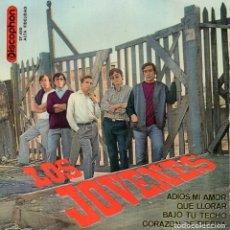 Discos de vinilo: JOVENES, EP, ADIOS, MI AMOR + 3, AÑO 1963. Lote 123371795