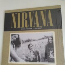 Discos de vinilo: NIRVANA LP KAOS LIVE 1987. Lote 123373403