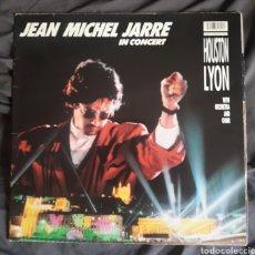 Discos de vinilo: JEAN-MICHEL JARRE - LP IN CONCERT LYON/HOUSTON - VINILO ORIGINAL ALEMANIA 1987 CON FUNDA LETRAS. Lote 123378818