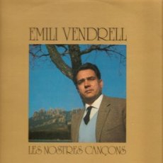 Discos de vinilo: EMILI VENDRELL - LES NOSTRES CANÇONS VOL, 2 - LP SPAIN. Lote 123394515
