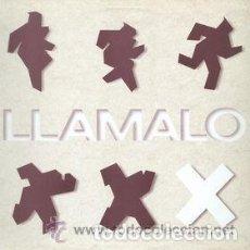 Discos de vinilo: LLAMALO X – MALA MEMORIA - LP HISPAVOX 1988 . Lote 123394907