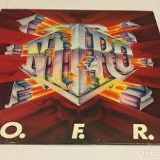 Discos de vinilo: NITRO - O.F.R. LP (GLAM, HEAVY METAL, JIM GILLETTE, MICHAEL ANGELO BATIO). Lote 123399639