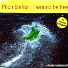 Discos de vinilo: PITCH SHIFTER - I WANNA BE FREE - MAXI EURO HOUSE, MAKINA 1993. Lote 123401495