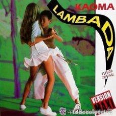 Discos de vinilo: KAOMA - LAMBADA - VERSION MAXI 1989. Lote 123402943