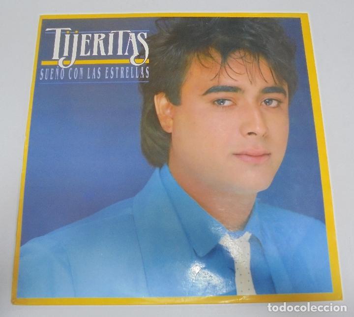 LP. TIJERITAS. SUEÑO CON LAS ESTRELLAS. 1986. CBS (Música - Discos - LP Vinilo - Flamenco, Canción española y Cuplé)