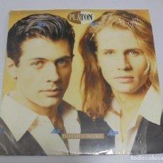 Discos de vinilo: LP. PLATON. PERDIENDO LA INOCIENCIA. 1992. CBS. Lote 181516142