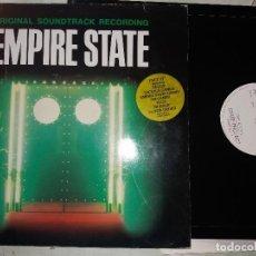 Discos de vinilo: TER EMPIRE STATE BSO NUEVO + MAXI SINGLE YELLO. Lote 123413631