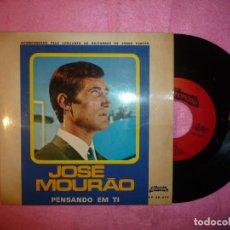 Discos de vinilo: JOSE MOURAO PENSANDO EM TI / 3+ EP FADO PORTUGAL PRESS (EX-/EX-) R. Lote 123418535