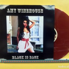 Discos de vinilo: AMY WINEHOUSE LP BLACK IS BACK VINILO COLOR ROJO MUY RARO COLECCIONISTA. Lote 123418579