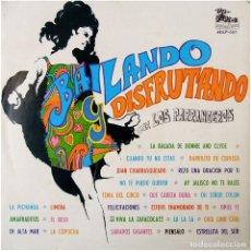 Discos de vinilo: LOS PARRANDEROS - BAILANDO Y DISFRUTANDO - LP CHILE 1973 - AUTODISCO ADLP 007. Lote 123421295