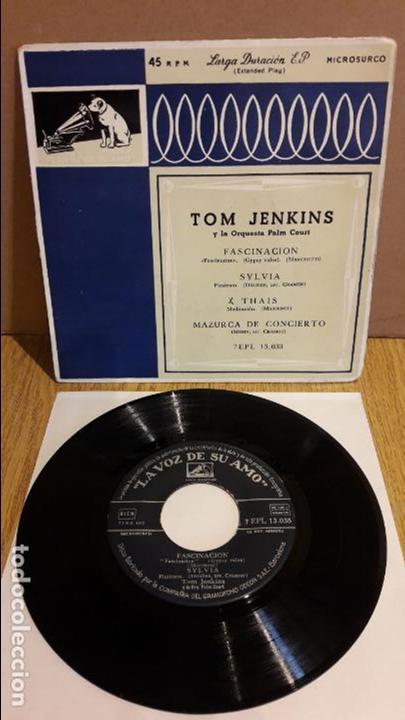 TOM JENKINS Y LA ORQUESTA DE PALM COURT / FASCINACIÓN / EP / AÑOS 50 / ***/*** (Música - Discos de Vinilo - EPs - Orquestas)