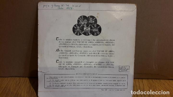 Discos de vinilo: TOM JENKINS Y LA ORQUESTA DE PALM COURT / FASCINACIÓN / EP / AÑOS 50 / ***/*** - Foto 2 - 123421403