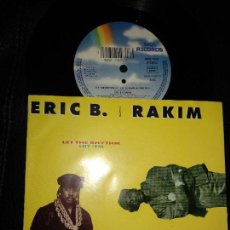 Discos de vinilo: ERIC B. & RAKIM ?– LET THE RHYTHM HIT 'EM (THE BLACKSMITH REMIX VOL 1). Lote 123424567