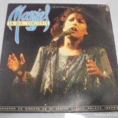Discos de vinilo: LP DOBLE. MASSIEL. EN DES...CONCIERTO. 1985. HISPAVOX. Lote 123428035