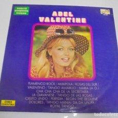 Discos de vinilo: LP. ADEL VALENTINE. SERIE ETIQUETA VERDE. 1972. ZAFIRO. Lote 123432899