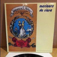 Discos de vinilo: MARINERS DE RIERA / HABANERAS EN LA HABANA / LP - PERFIL - 1991 / MBC. ***/***. Lote 123436847