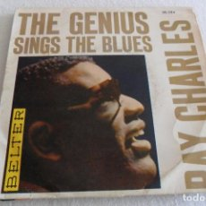 Discos de vinilo: RAY CHARLES - THE GENIUS SINGS THE BLUES - EARLY IN THE MORNIN' +3 EP 1962. Lote 123469271
